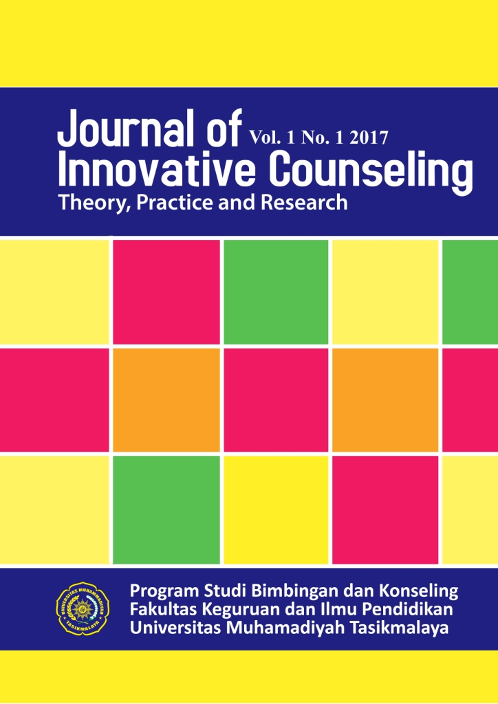 Journal of Innovative Counseling : Theory, Practice and Research Vol.1 No.1 2017
